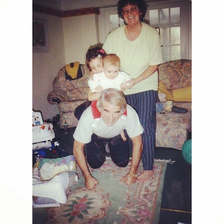 Always had fun with Nan and Grandad