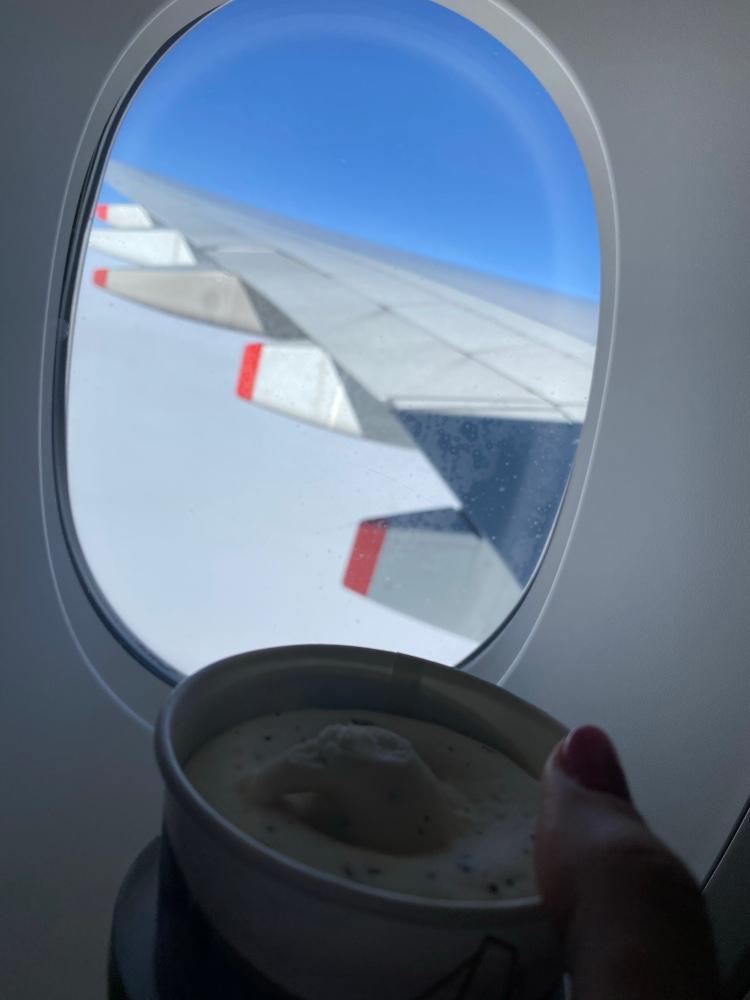 Ice Cream at 36,000 ft
