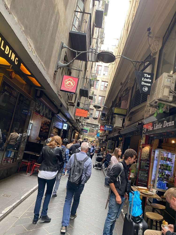 A street in the laneways