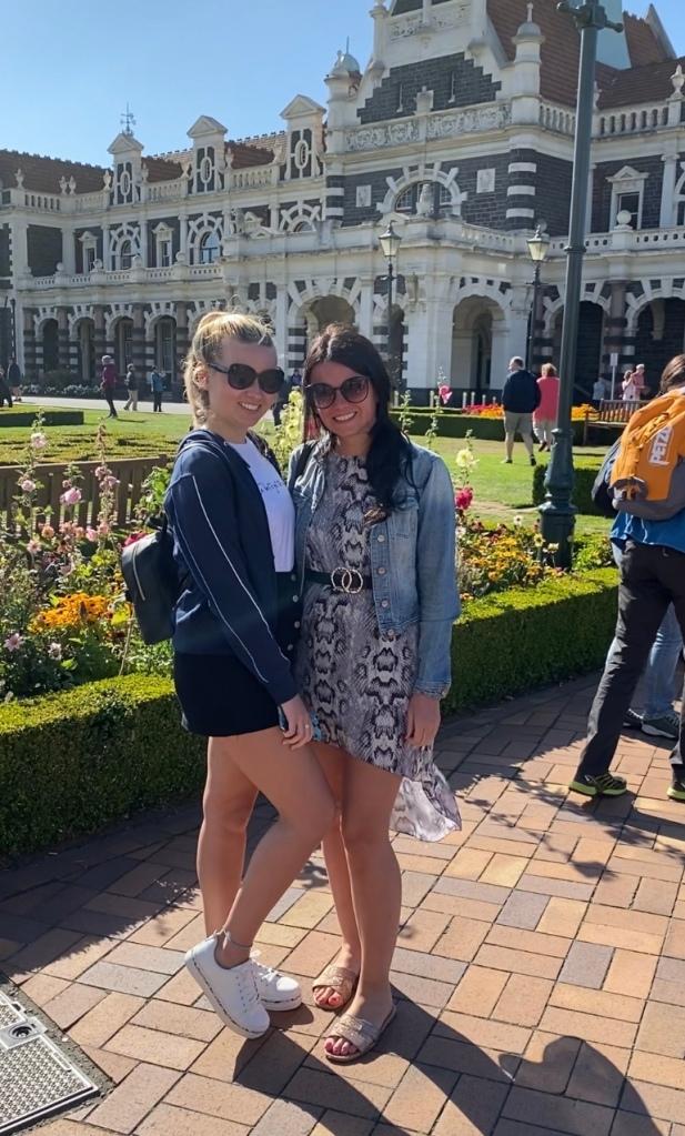 Exploring Dunedin with my Sis