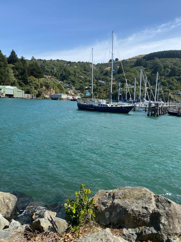 Port Chalmers Harbour walk