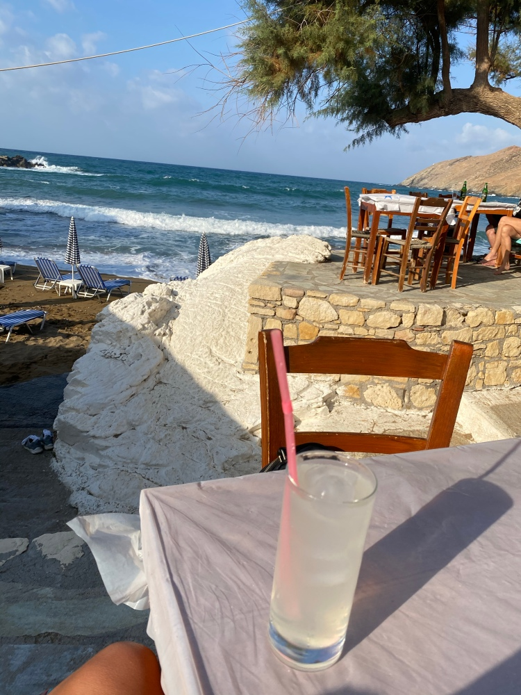 Gin and Lemon at the beach