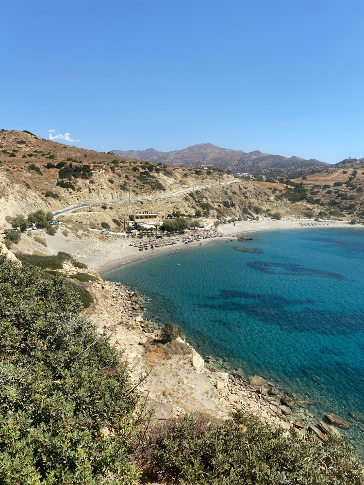 Looking down on Little Triopetra