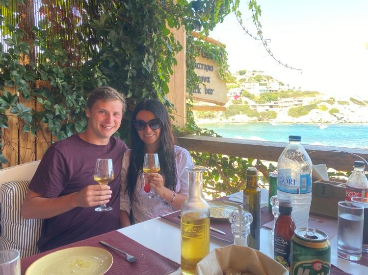 drinks at Taverna Lygaria