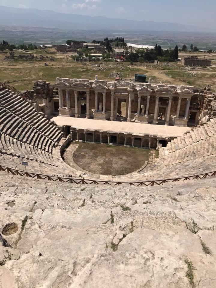 Ancient theatre at Hierapolis