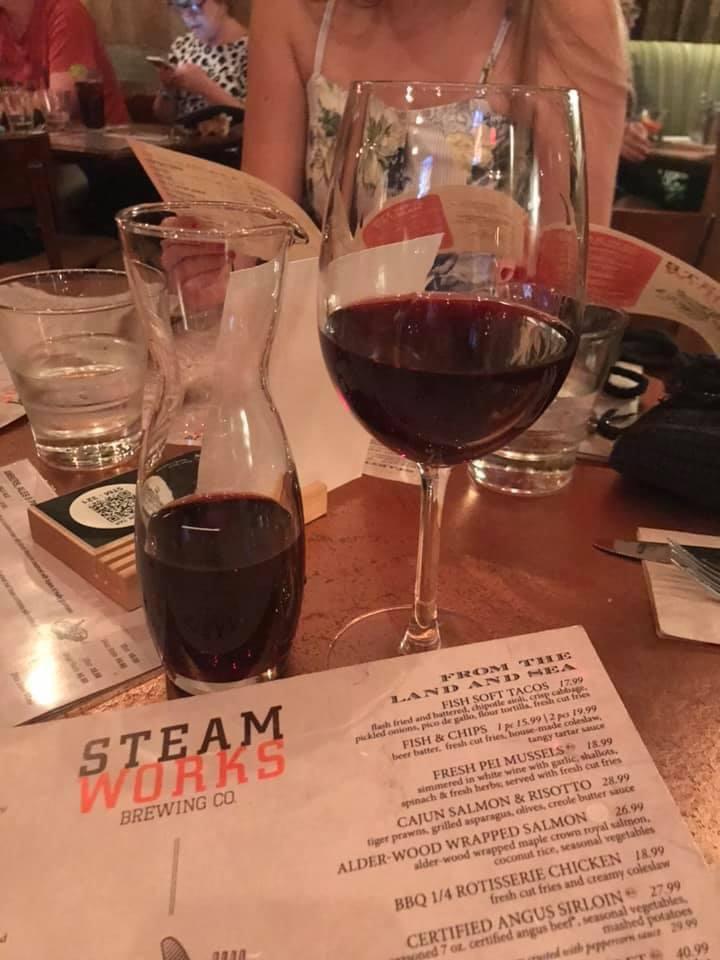 Dinner at The Steamworks